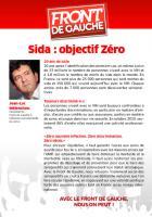 Sida : objectif Zéro
