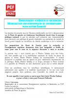 ESR: Mobilisation des scientifiques et universitaires pour battre Sarkozy (PCF/R&S)