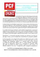 Assises de l'enseignement supérieur et de la recherche : L'atelier législatif du Front de gauche indispensable outil du cap à gauche