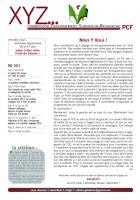 XYZ n° 8 mai 2012