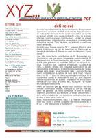 XYZ n° 3 septembre 2010