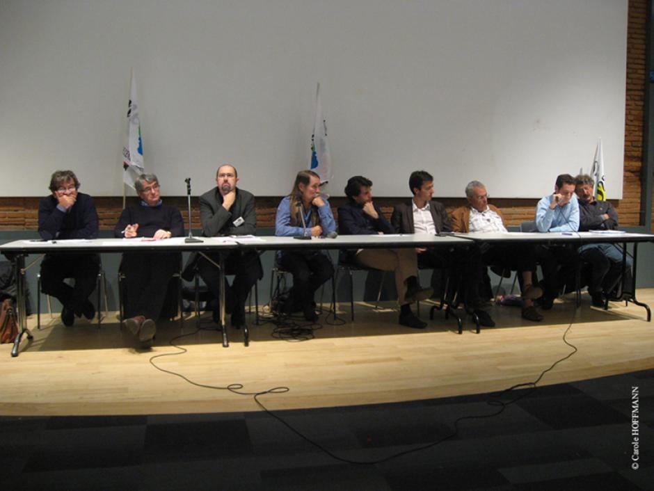 Intervention du PCF à la réunion publique organisée par le Snesup à Toulouse le 14.10.2011