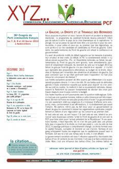XYZ n° 10 décembre 2012
